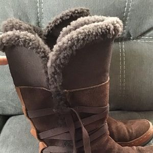 The North Face size 6 winter boots
